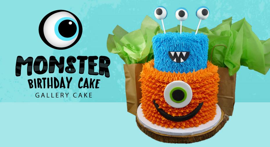 Phenomenal Monster Birthday Cake Scoop N Save Funny Birthday Cards Online Fluifree Goldxyz