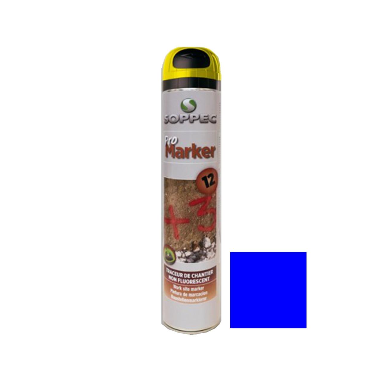 Soppec Spray Paint Promarker Blue 750ml (142501N)