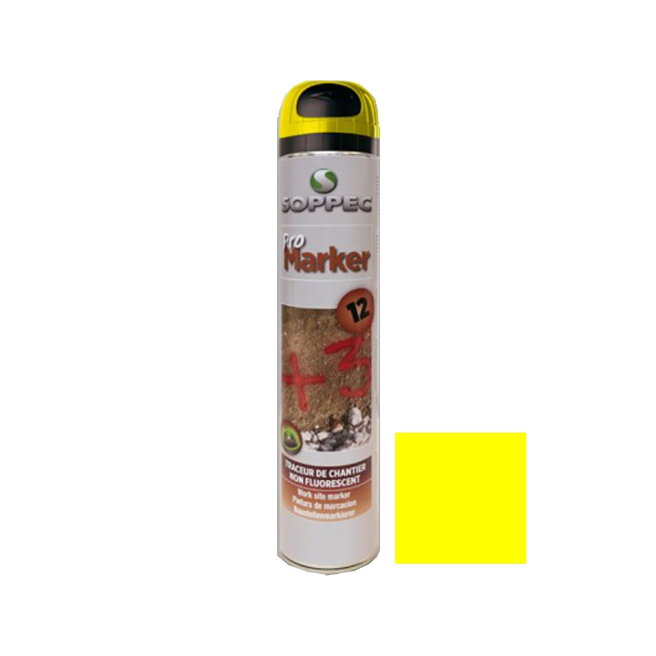 Spray Paint Promarker Yellow 750ml