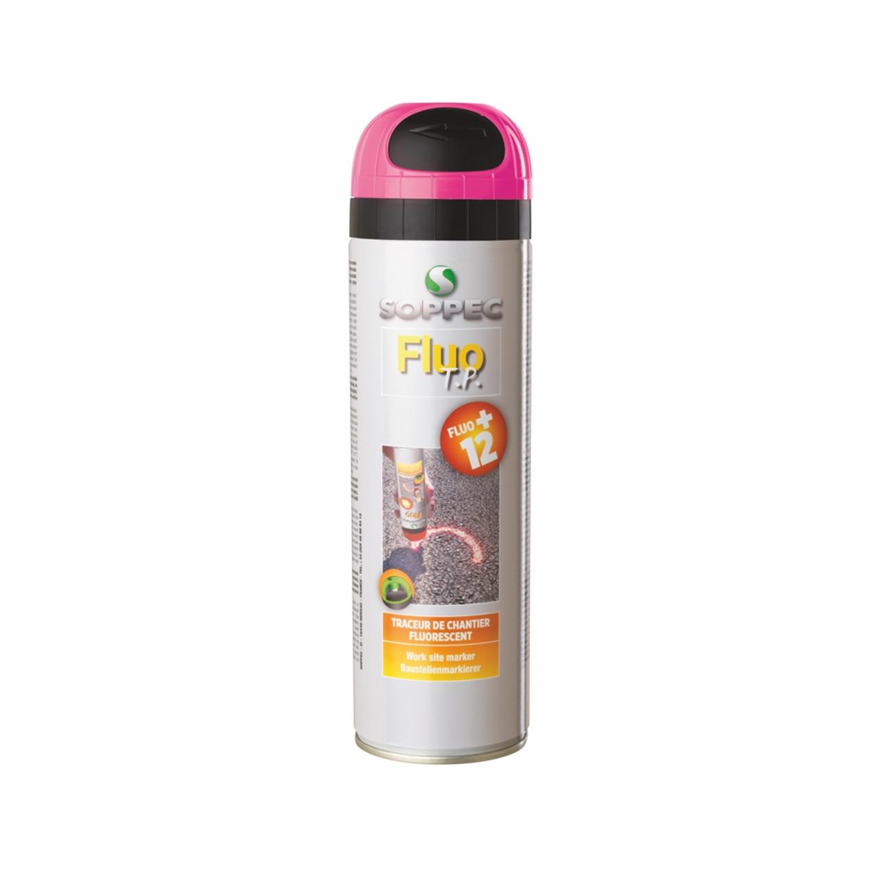 Soppec Spray Paint FluoTP Pink 500ml (910112)