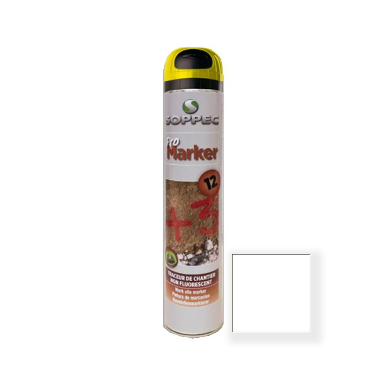 Soppec Spray Paint Promarker White 750ml (142500N)
