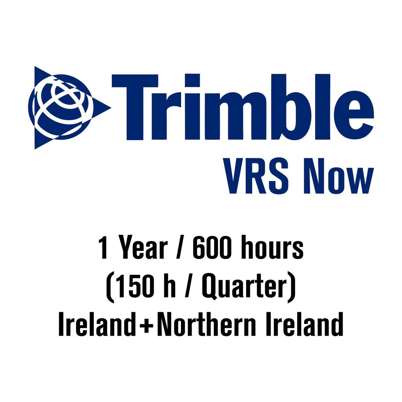 Trimble VRSNow RTK Network 1Y 600h Subscription (303098)
