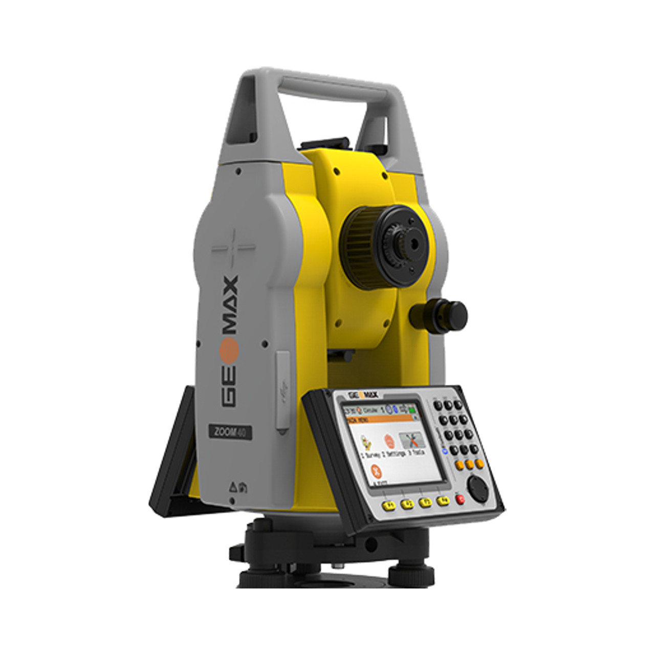 """GeoMax Zoom40, 5"""" WinCE, 500 m reflectorless Total Station Package (865959)"""
