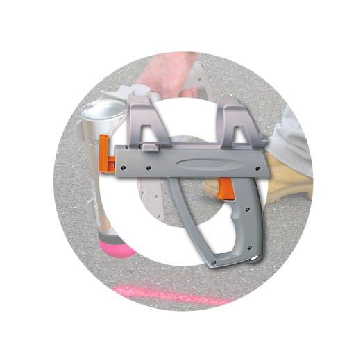 PVC Short Spray Pistol (432447)