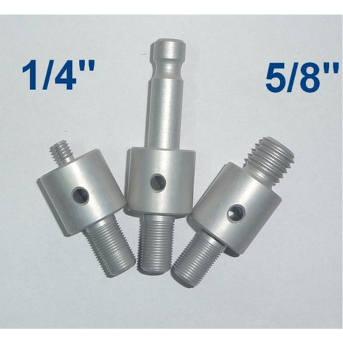 """Mini Pole + adapters: 1/4"""" + 5/8"""" + Leica"""