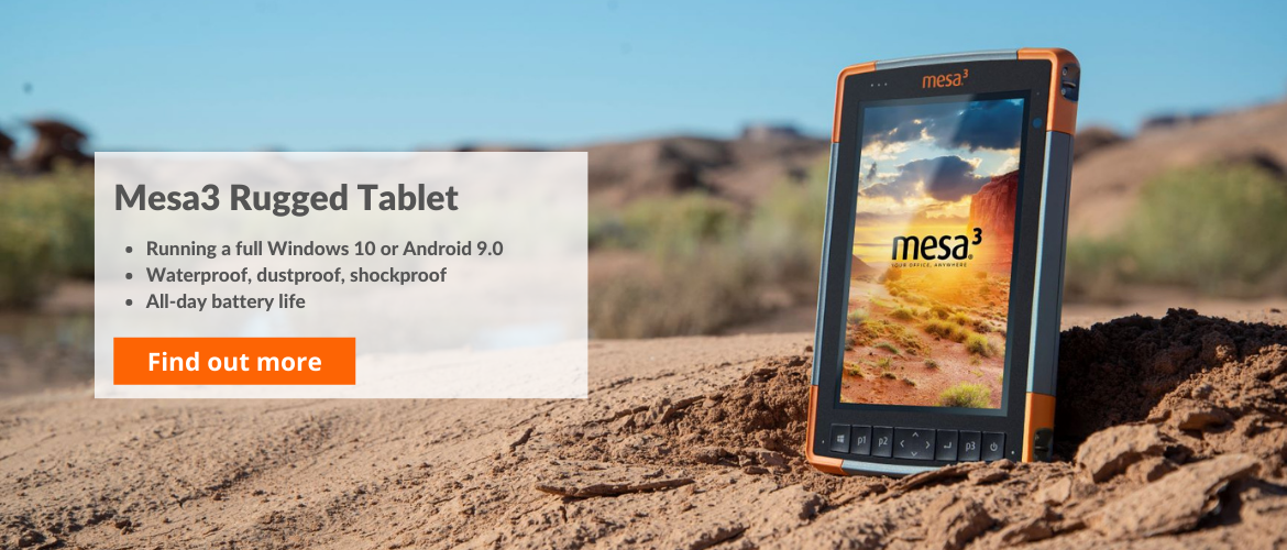 Mesa3 rugged tablet