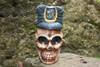 "Skull Policeman Prop 16"" Statue - Pop Art Crossbones Decor | #kng2102640"