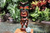 "Love Tiki God 20"" - Hand Carved - Hawaii Treasure 