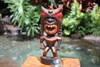 "Money Tiki God 8"" - Hand Carved - Hawaii Treasure | #bag15027b20"