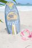 "Laguna Beach Surf Sign 14"" w/ Fin - Surfing Decor Accents | #bds1208435"