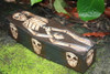 "Skeleton Treasure Chest Box 12"" - Skull Decor 