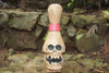 "Skull Bowling Pin 14"" - Crossbones Decor 