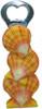 """Bottle Opener - Sunrise Seashell 5.5"""" - Tiki Bar   #kc30470"""