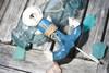 "Anchor Hanger 6"" - Coastal Blue Decorative Accent | #ata1800815b"