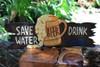 """Save Water, Drink Beer"" Tiki Bar Sign - Beer Sign | #ksa903450"