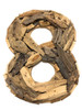 """""""8"""" Driftwood Number 10"""" Home Decor - Rustic Numerical   #lis310018"""