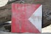"B Nautical Alphabet Wooden Plaque 7"" X 7"" - Coastal Decor | #skn16017b"