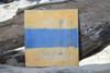 "D Nautical Alphabet Wooden Plaque 7"" X 7"" - Coastal Decor | #skn16017d"