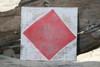"F Nautical Alphabet Wooden Plaque 7"" X 7"" - Coastal Decor | #skn16017f"
