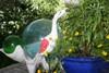 "Decorative Egret Bird 14"" Wooden - Nautical Accent | #ort1705234r"