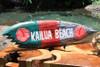 """Kailua Beach Surf Sign 20"""" Shark Bite - Beach Decor   #snd2502850"""