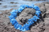 "Blue Island Lei 18"" - Hawaiian Silk Leis"