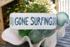 "Gone Surfing Sign 14"" - Beach Decor   #ort1705635"