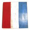 "T Nautical Alphabet Wooden Plaque 7"" X 7"" - Coastal Decor | #skn16017t"