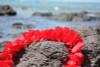 "Red Island Lei 18"" - Hawaiian Silk Leis"