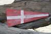 "4 Nautical Numerical Flag 12"" Wood Plaque - Coastal Decor   #skn160214"