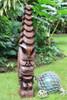 "Tiki God Temple Image 48"" Health Tiki - Stained Hawaii Museum Replica | #yda11028120b"