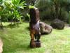 "Tiki Lono ""Fisherman"" 48"" - Outdoor Statue   #rtg1001120b"