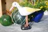 """Seagull Bird 14"""" Wooden - Rustic Coastal Decoration   #ort1704534y"""