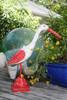 "Decorative Heron Bird 14"" - Rustic Red Coastal Decor | #ort1704834r"