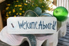 """Welcome Aboard Sign 14"""" - Nautical decor 