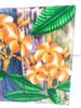 "Plumeria Flower Painting on Wood Planks 16"" X 16"" Rustic Wall Decor | #zon04b"