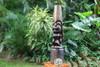 "Love Tiki Totem 40"" Stained Hand Carved - Hawaiian Decor | #yda11001100b"