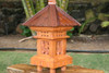 "Balinese Lantern 24"" w/ Coconut Husk Roof & Carved Siding | #tks03"