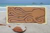 "Giant Hawaiian Octopus, Tako, He'e 30"" X 15"" Wall Art Wooden Panel | #dpt519275"
