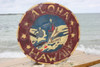 """Aloha Hawaii"" Vintage Replica Sign 16"" - Nostalgia 
