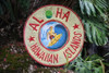 Aloha, Hawaiian Islands Vintage Replica Sign 16"