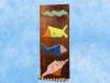 "Fish & Seashells Relief 20"" X 8"" - Wall Art Wood Panel | #dpt515950"