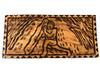 "The Nana Stone Wood Panel 30"" X 12"" King Kamehameha - Polynesian Wall Art | #dpt5040"