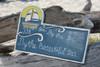 "By The Sea, By The Sea... Decorative Sign 14"" - Coastal Decor | #dpt521235"
