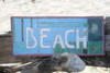 """Beach Sign 14"""" - Weathered Finish - Cottage Decor   #bds1207735"""