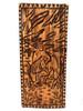 "Kamehameha's Rule Wood Panel 30"" X 12"" King Kamehameha - Polynesian Wall Art   #dpt5048"