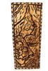 "A Stormy Birth Wood Panel 30"" X 12"" King Kamehameha - Polynesian Wall Art | #dpt5050"