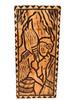 "The King's Love Wood Panel 30"" X 12"" King Kamehameha - Polynesian Wall Art   #dpt5051"