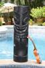"Maori Warrior Tiki Totem 40"" Black - Nodern Pop Art | #dpt5169100"