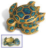 "Turtle Honu Jewelry Keepsake Box 3"" - Hawaii Gift | #ih12625000"